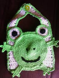 Froggy Bib Pattern!   Little Yarner...How I Yarn for Thee!