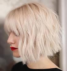 70 Fabulous Choppy Bob Hairstyles Style Fryzur Pasemka Blond