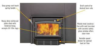 high efficiency wood stove fireplace