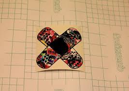 Car Truck Graphics Decals Motors Crossed Bandage Vinyl Decal Sticker Jdm Megeriancarpet Am