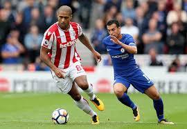 Glen Johnson - Glen Johnson Photos - Stoke City v Chelsea ...