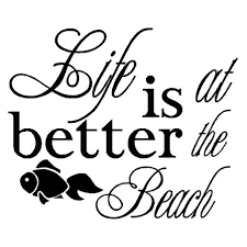 Life Is Better At The Beach Vinyl Decal Sticker Country Boy Customs Store