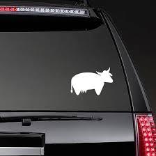 Short Cow Sticker