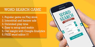 a complete word search android game