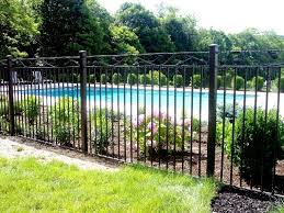 Decorative Wrought Iron Pool Fence Pool Fence Pool Fencing Landscaping Wrought Iron Pool Fence