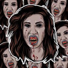 Deadite Sticker Pack Evil Dead Ash Vs Evil Dead Ii Necronomicon Zombie Horror Stickers Demons Vinyl Sticker Horror Villains Horror Vinyl Sticker