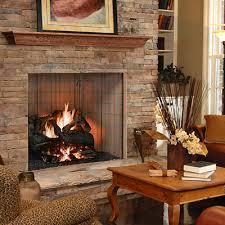 wood fireplaces fireplace stone patio