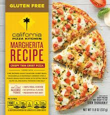gluten free crispy thin crust pizza