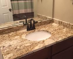fantasy platinum granite bathroom