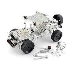 Конструктор металлический Джип (383 дет) - купить в интернет-магазине |  Узнать цены на игрушки в каталоге «Юный Папа»