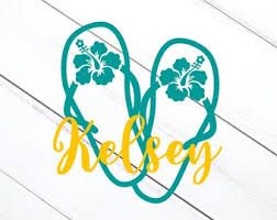 Sandal Decal Etsy