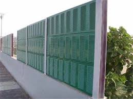 Road Sound Reduction Acoustic Barrier Fence Traffic Noise Barrier For Highways