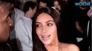 kim kardashian goes to fashion show