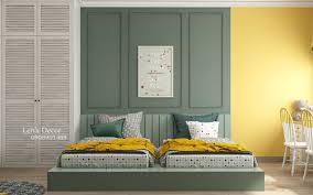 Yellow Green Kids Bedroom Awesome Decors