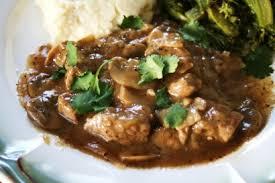 steak tips with mushroom marsala sauce