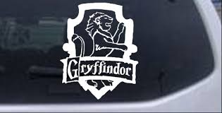 Harry Potter Gryffindor Crest Car Or Truck Window Laptop Decal Sticker Ebay