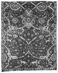 ebook of antique tabriz silk rug