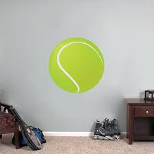 Shop Printed Tennis Ball Wall Decal Overstock 10670684