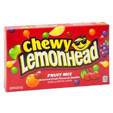 chewy lemonhead fruit mix 5 oz theater box