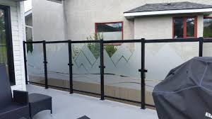 exterior railings advanced glass