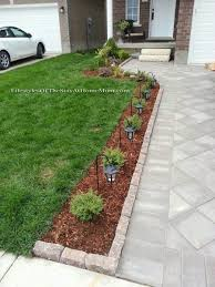 front garden and landscaping