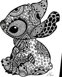 Mandela Stitch Tattoo Disney Kleurplaten Mandala Kleurplaten