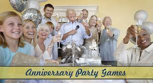 anniversary party games for 10th 25th