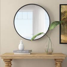 30 inch round mirror wayfair