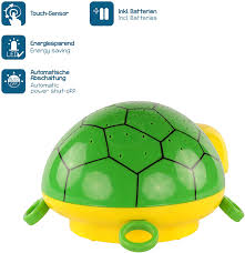 Ansmann Starlight Turtle Nightlight Projects Actual Star Constellations Relax Effect Multicolor Led Sleeping Aid For Babies Kids Night Lights Amazon Com