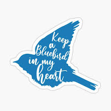Bluebird Stickers Redbubble