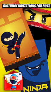 Invitaciones De Cumpleanos Ninja For Android Apk Download