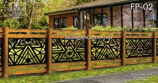 Fence Panels Design Studio Art Caprice