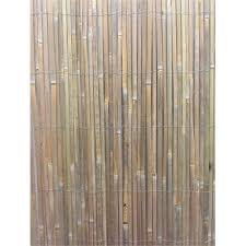 1 8 x 3m bamboo slat screen fencing