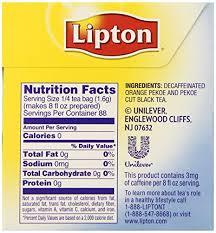lipton decaffeinated cold brew family