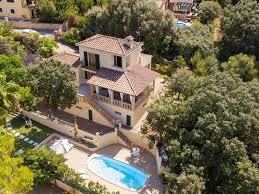 beautiful villa with pool in bunyola