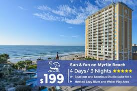 myrtle beach vacation package 4 days