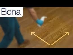 remove bona hardwood floor polish