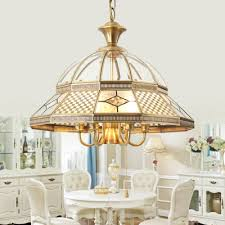 dining room copper pendant light