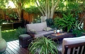 small spaces patio backyard