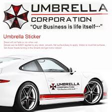 H Raininmay Car Stickers Resident Evil Umbrella Corporation Creative Sticker Waterproof Buy At A Low Prices On Joom E Commerce Platform