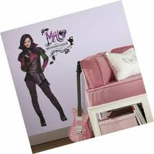 Roommates Rmk2852tb Descendants Mal Peel Stick Giant Wall Decals 15 X 42 5 For Sale Online Ebay