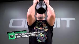 werewolf kettlebell core power workout
