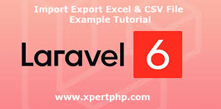 import export excel csv file
