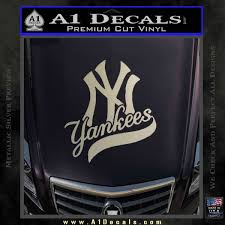New York Yankees Combined D1 Decal Sticker A1 Decals