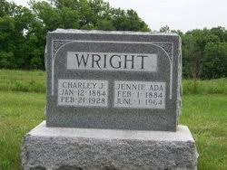 Jennie Ada Stevens Wright (1884-1964) - Find A Grave Memorial