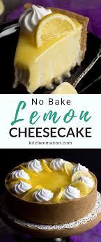 easy lemon cheesecake recipe video