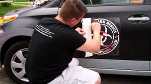Installing A Large Decal Hinged Method Youtube
