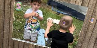 Neighboring Moms Install Clear Acrylic Panel Fence So Their Children Can Keep Playing Together Usa Daily Express