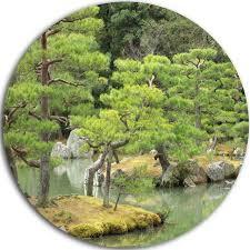 landscape photo disc metal art