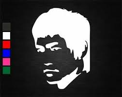 Bruce Lee Vinyl Decal Sticker Home Car Wall Door Laptop Tablet Window Glass Ebay